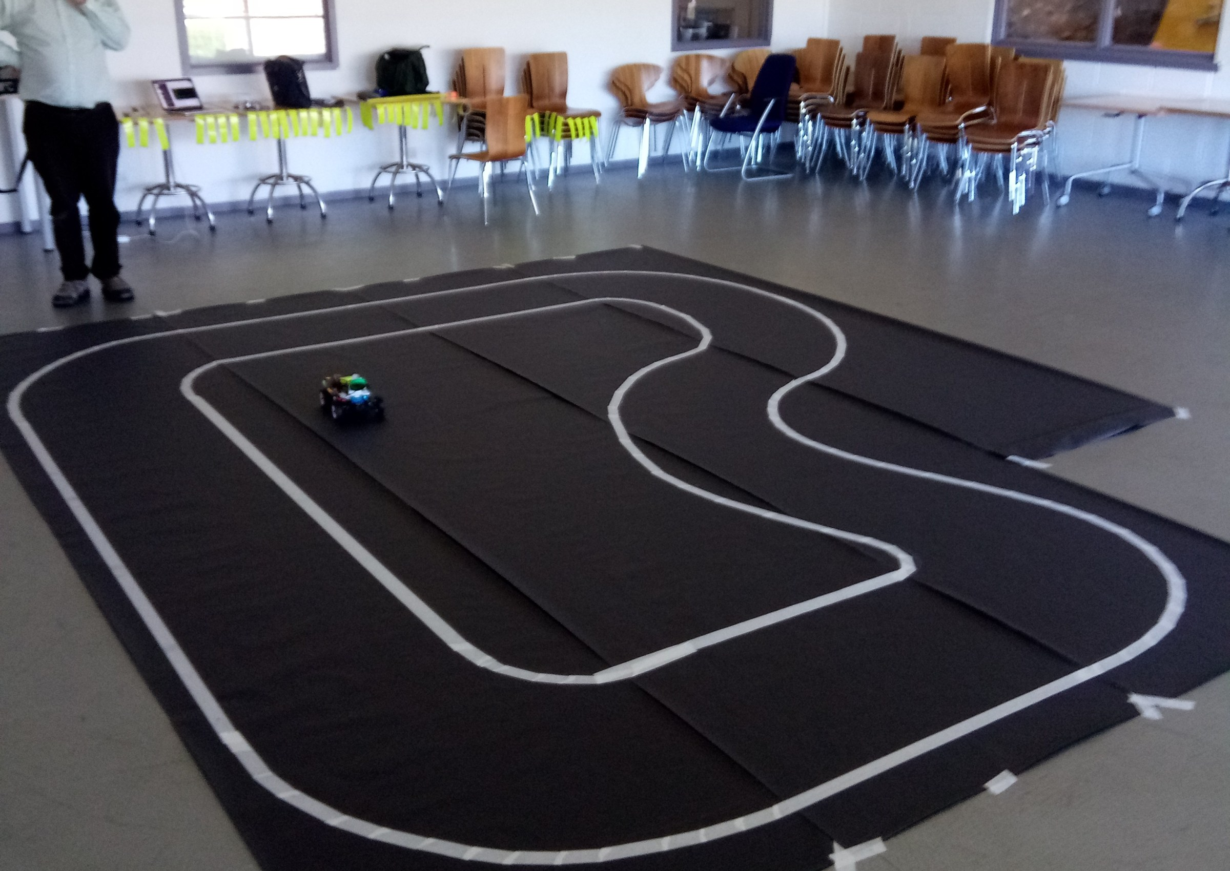 Driverless Car Workshop development